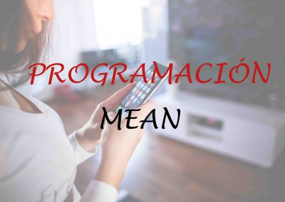 Curso de Programación Web con MEAN (Mongo, Express, Angular y Node)